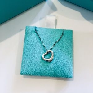 Tiffany's open heart necklace!